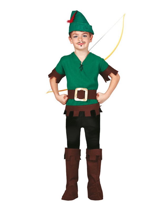 disfraz de robin arquero niño