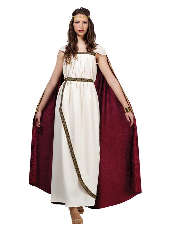 disfraz de romana troyana mujer