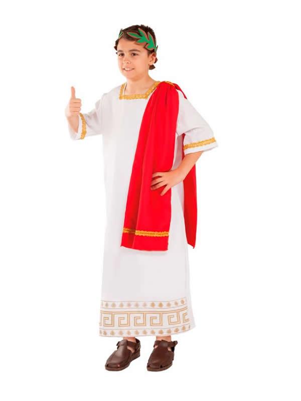 disfraz de romano pretor niño