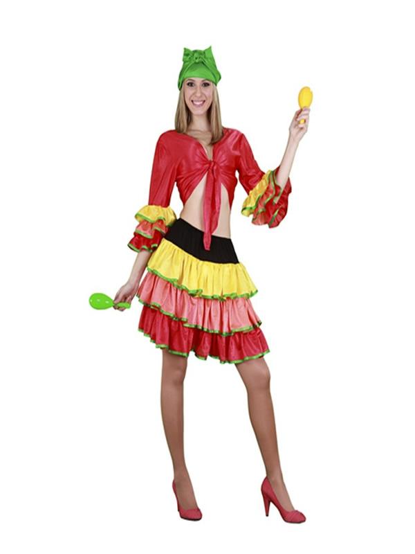 disfraz de rumbera mujer y04027 - Disfraces en Pareja para tu Fiesta Temática