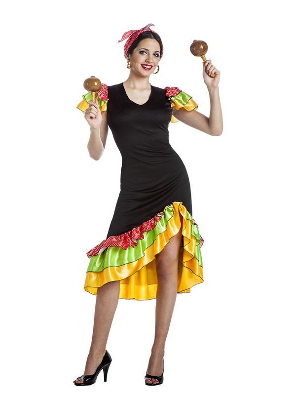 disfraz de rumbera para mujer k0202 - ¿Cómo organizar una fiesta hawaiana con disfraces y complementos?