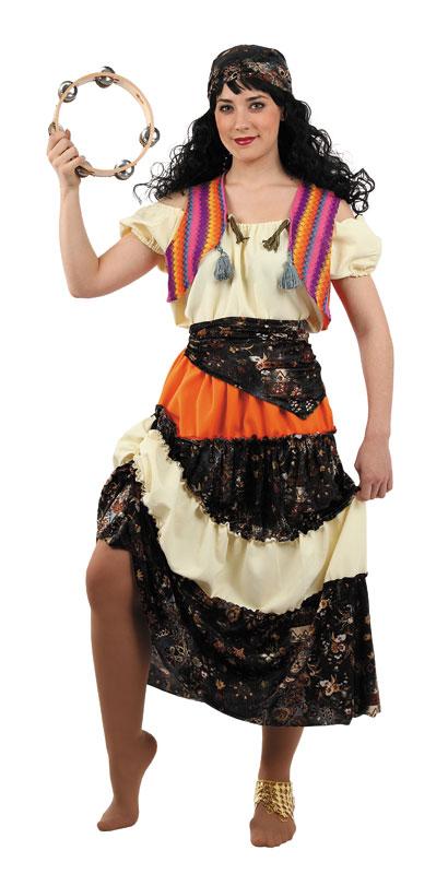 disfraz de rusa mujer