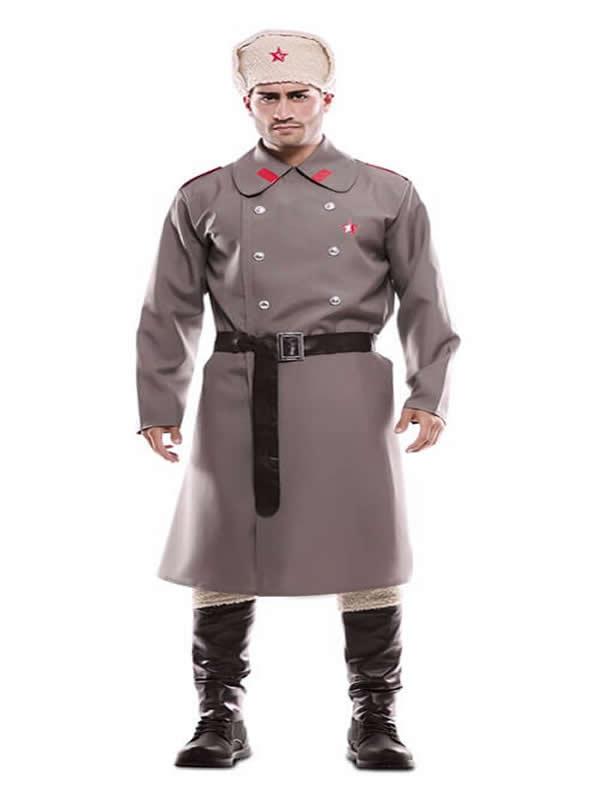 disfraz de ruso gris para hombre