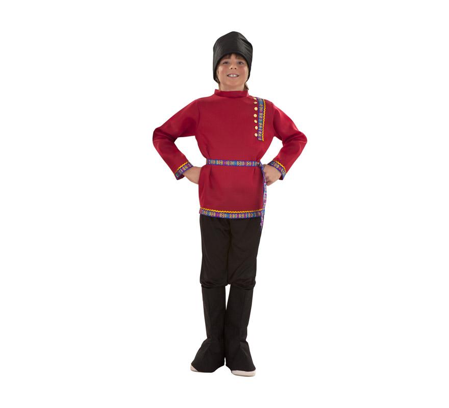 disfraz de ruso para niño