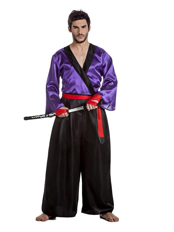 disfraz de samurai para hombre