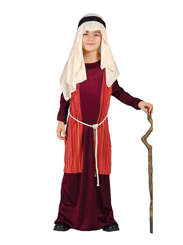 disfraz de san jose rojo para niño