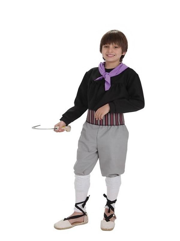 disfraz de segador para niño