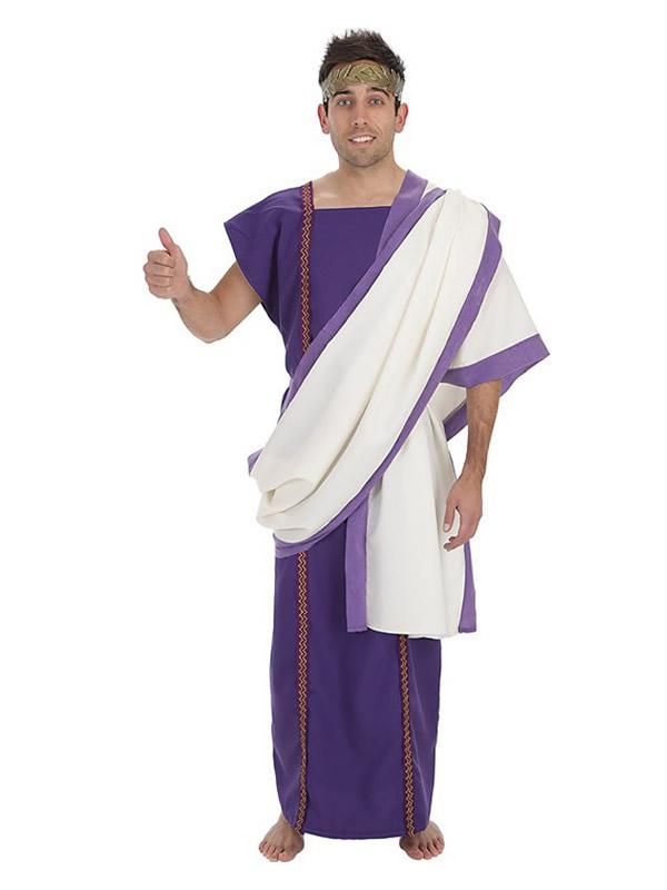 disfraz de senador romano polux para hombre