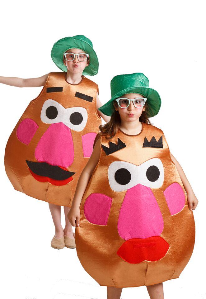 disfraz de senora patata infantil 10 a 12 anos pr91373g - Los Disfraces Mas Graciosos y Adorables