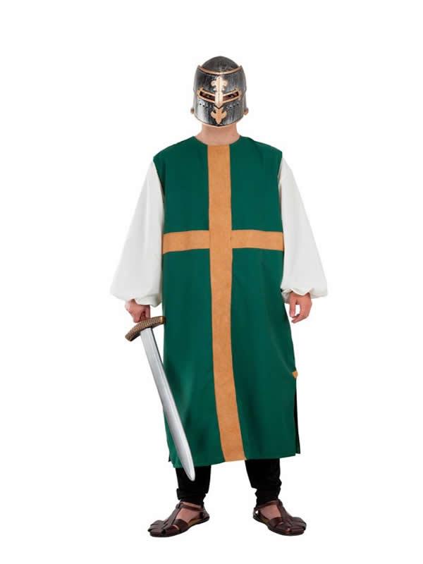 disfraz de sobrevesta cruz para adulto