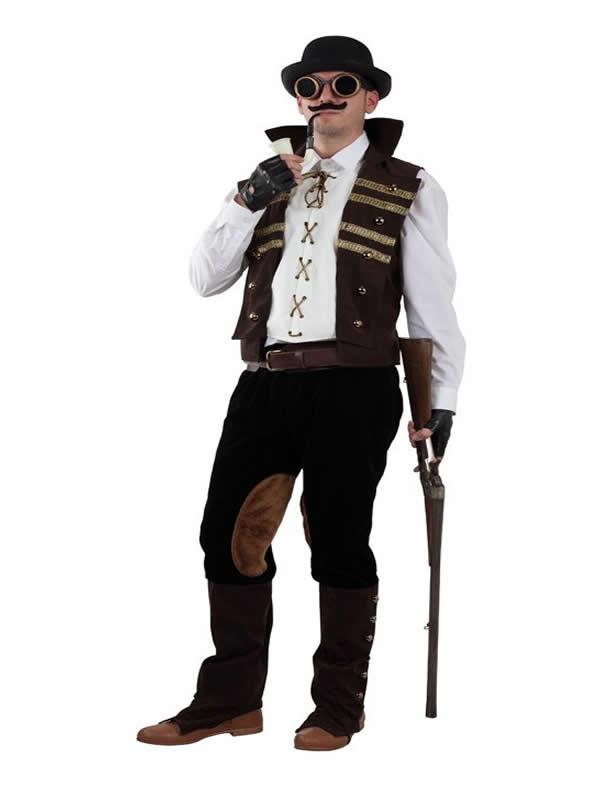 disfraz de steampunk para hombre