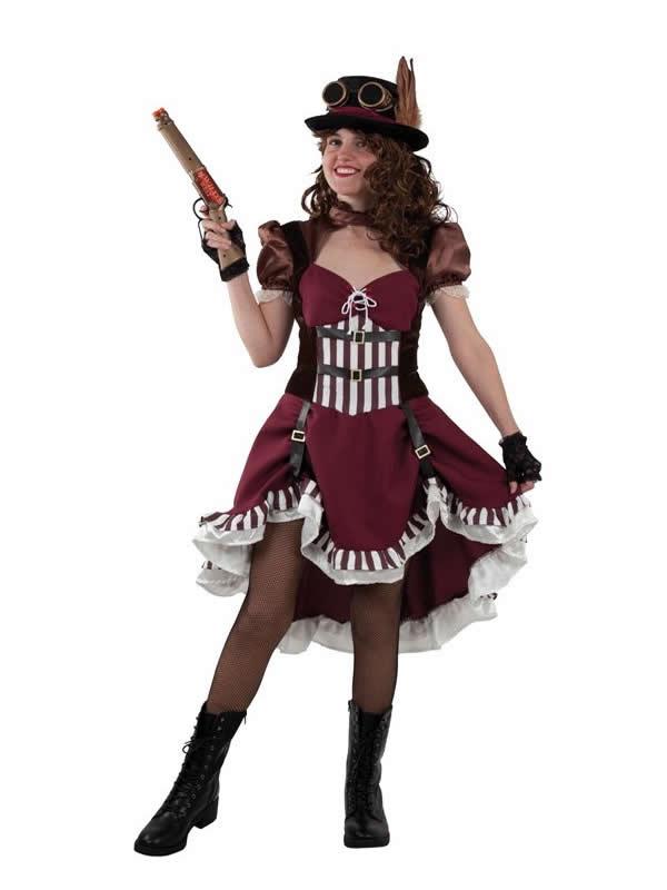 disfraz de steampunk para mujer