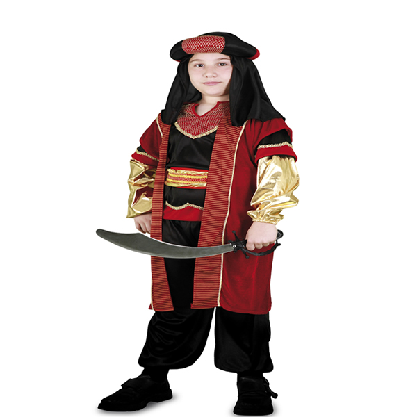 disfraz de sultán real niño