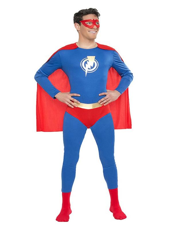 disfraz de superhéroe hombre