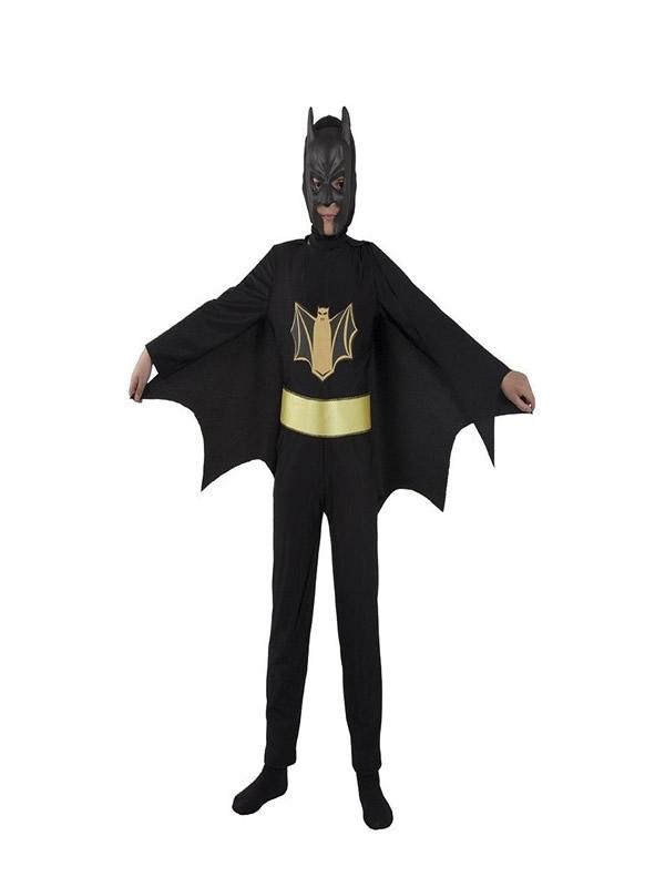disfraz de superheroe murcielago para niño