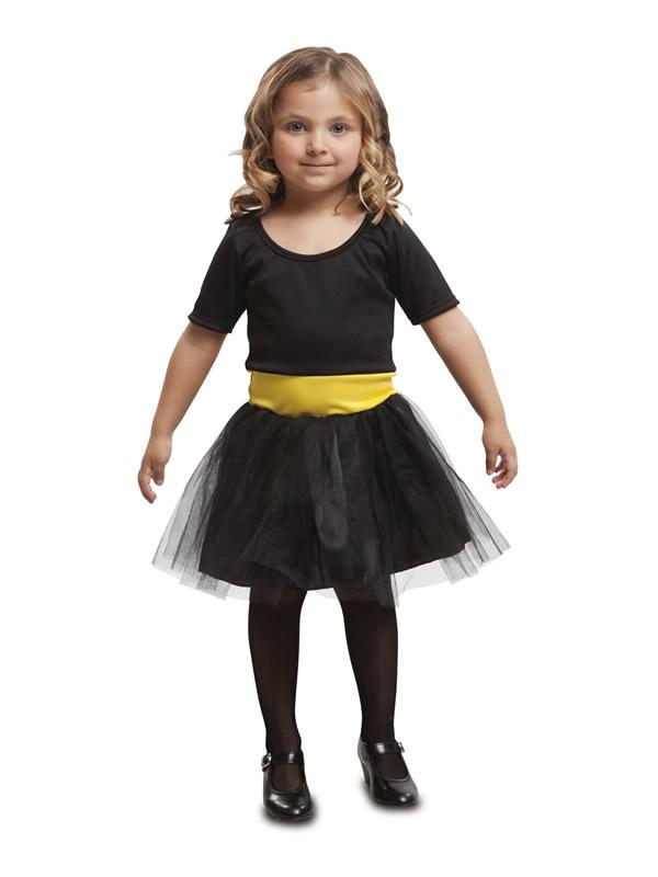 disfraz de superheroina negra para niña