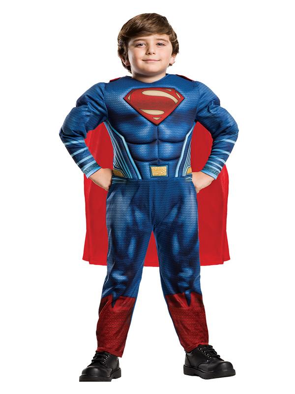 disfraz de superman justice league niño