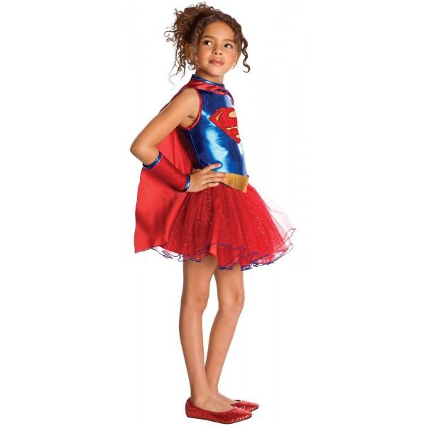 disfraz de superman tutu para nina fu11276 - Los mejores disfraces en grupo infantil
