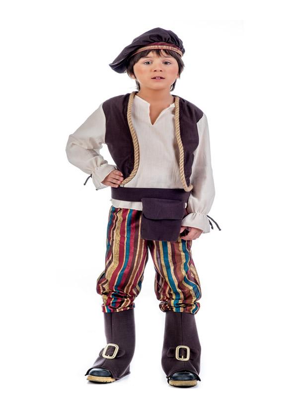 disfraz de tabernero medieval deluxe niño
