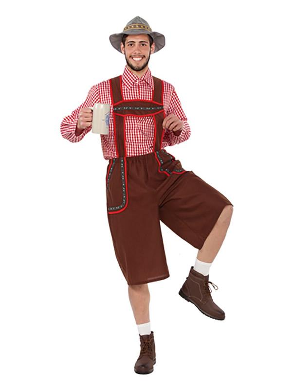 disfraz de tiroles para hombre