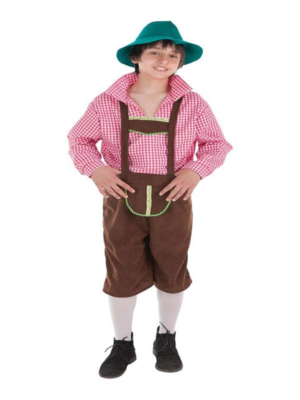 disfraz de tiroles para niño