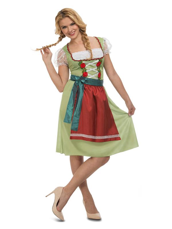 disfraz de tirolesa coqueta para mujer