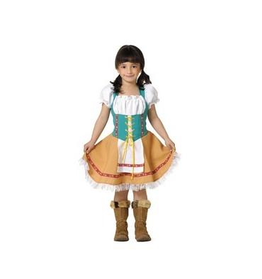 disfraz de tirolesa niña