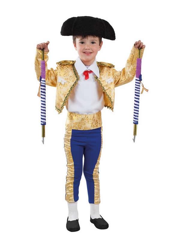 disfraz de torero lujo para bebe