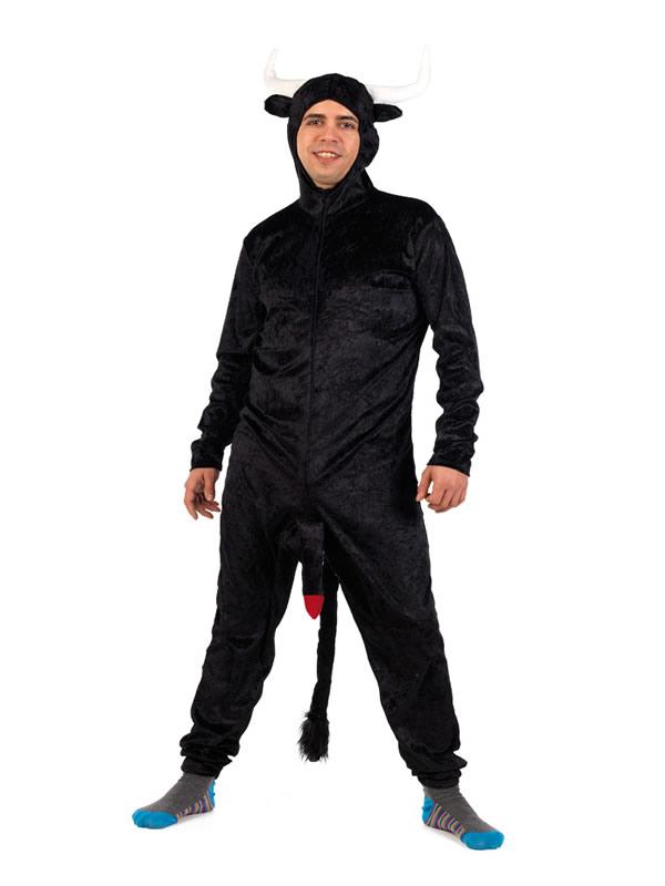 disfraz de toro con rabo hombre