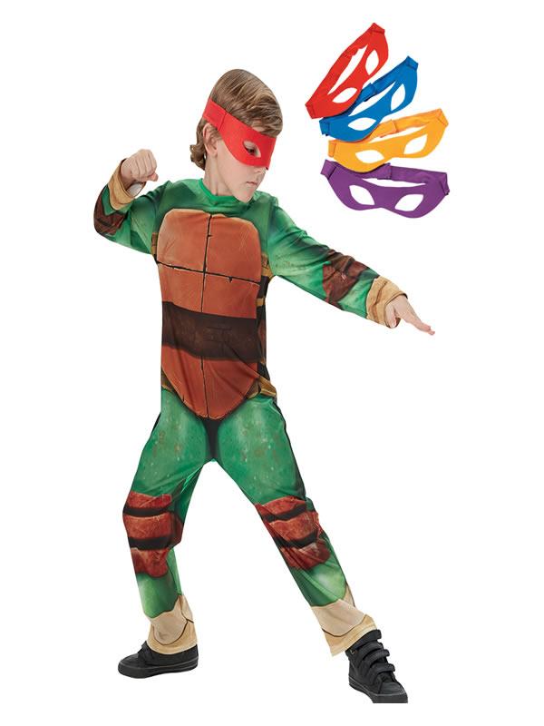disfraz de tortuga ninja para niño