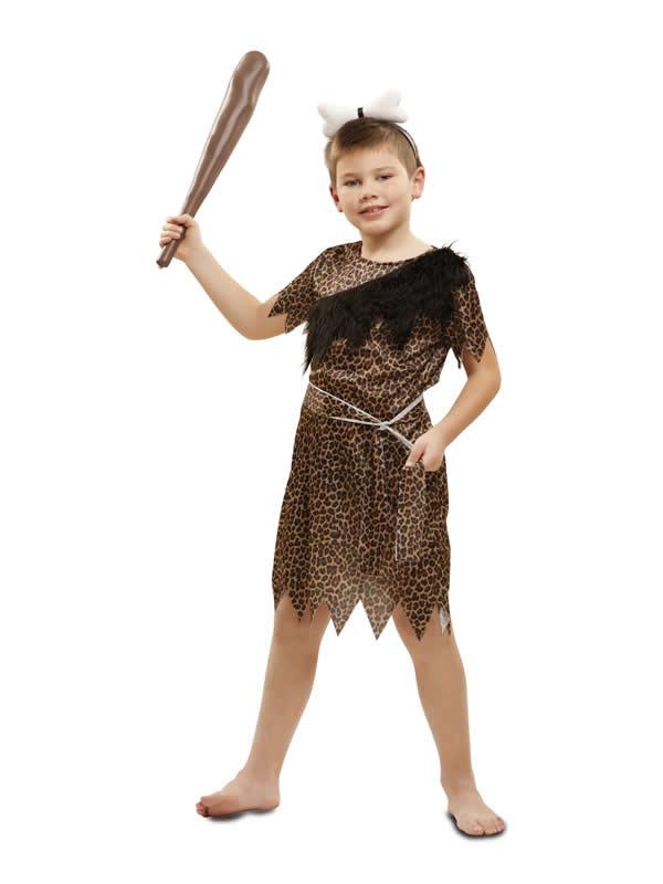 disfraz de troglodita para niño