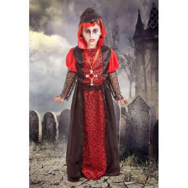 disfraz de vampira infantil
