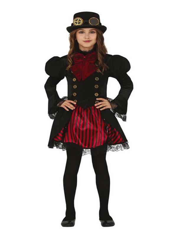 disfraz de vampiresa gotica para niña