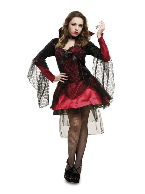 disfraz de vampiresa oscura para mujer