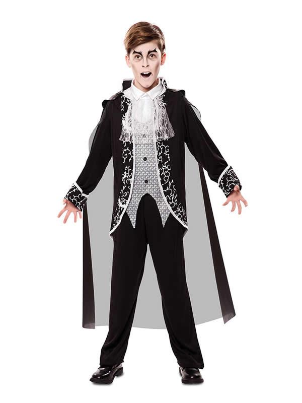 disfraz de vampiro gotico para niño