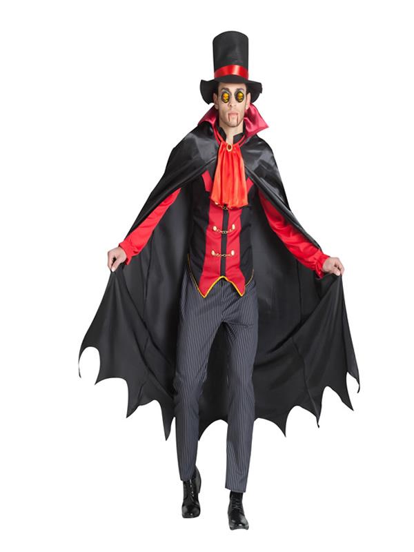 disfraz de vampiro victoriano hombre