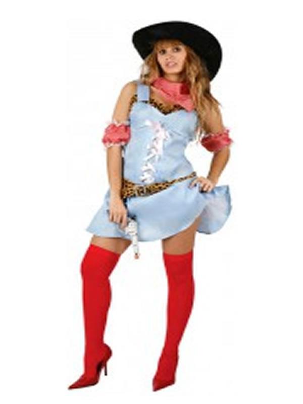 disfraz de vaquera barata para mujer