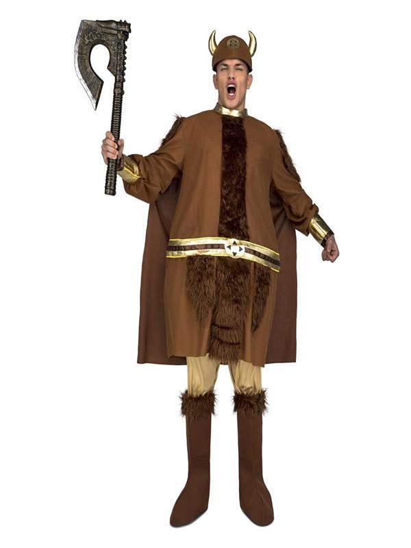 disfraz de vikingo gordo para hombre