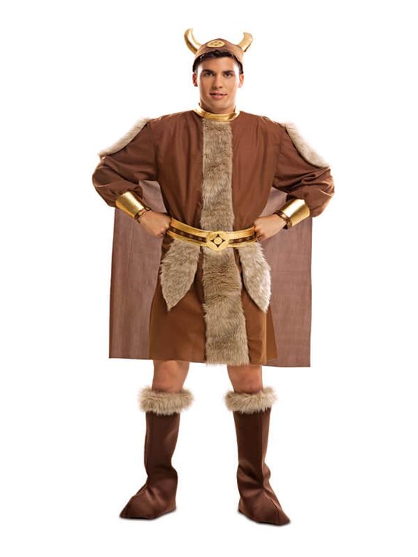 disfraz de vikingo guerrero adulto
