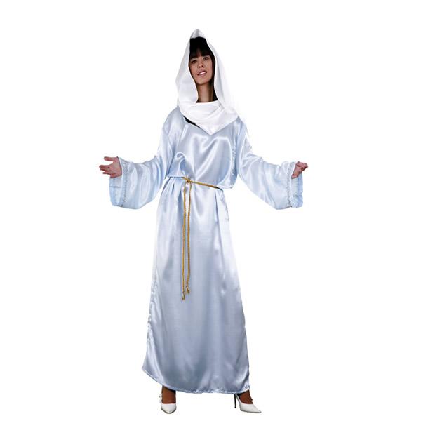 disfraz de virgen maria mujer adulto egl01245 - Disfraces para tus fiestas navideñas