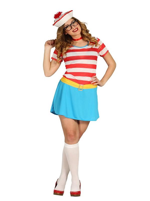 disfraz de wally marinera mujer gui80845 - Como organizar una fiesta de despedidas de soltera con disfraces y complementos
