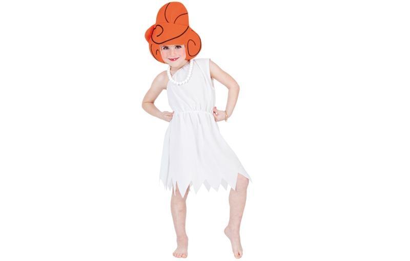 disfraz de wilma picapiedra niña