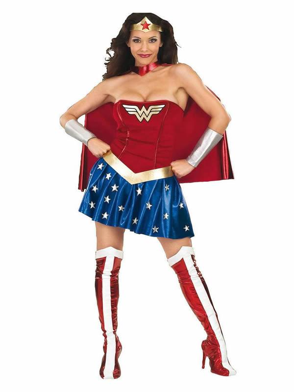 disfraz de wonder woman para mujer
