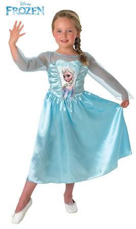 disfraz elsa frozen niña