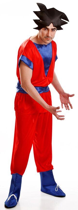 disfraz guerrero goku para adulto