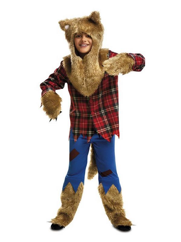 disfraz hombre lobo para niño halloween