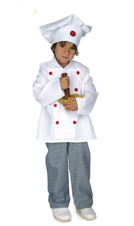 disfraz infantil cocinero