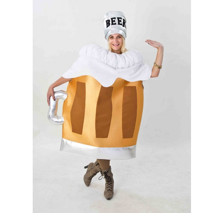 disfraz jarra de cerveza oktoberfest adultos ri731 - Ideas de disfraces para festivales y conciertos