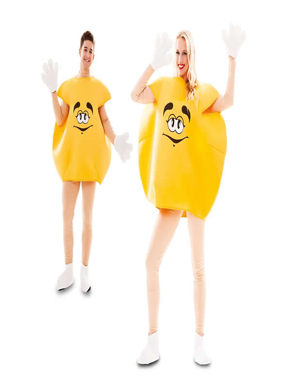 disfraz lacasito emanems amarillo para adulto