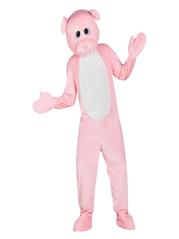 disfraz mascota cerdo para hombre